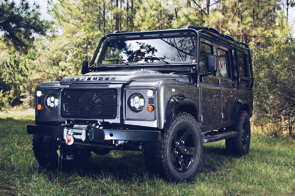 The EastCoast Defender Project XIIIis rougher, tougher and faster than a regular Defender
