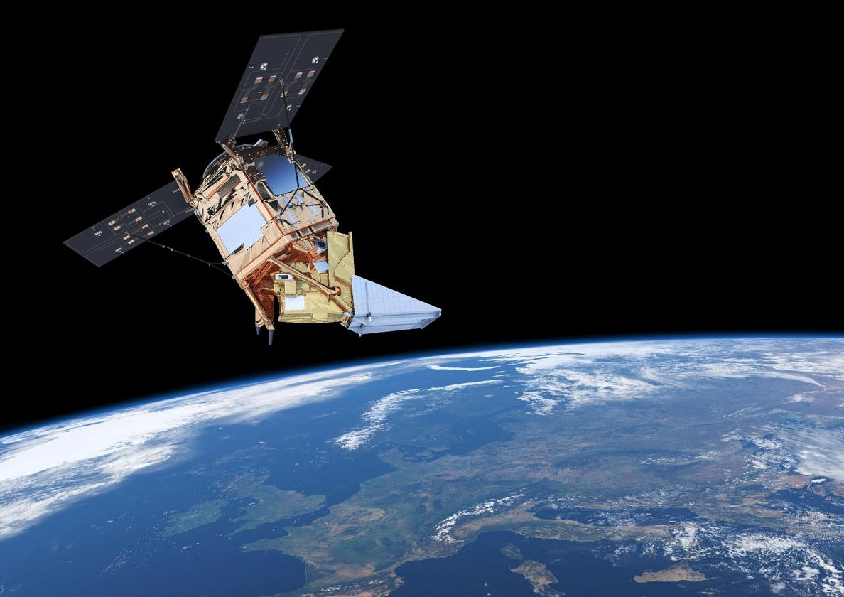 The ESA is preparing to launch the Sentinel-5P, which will monitor air pollution