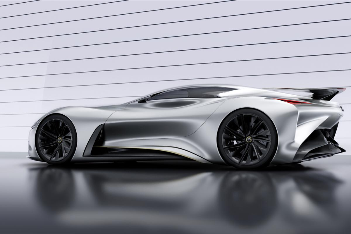 The Infiniti Concept Vision GT joins PlayStation 3's Gran Turismo 6