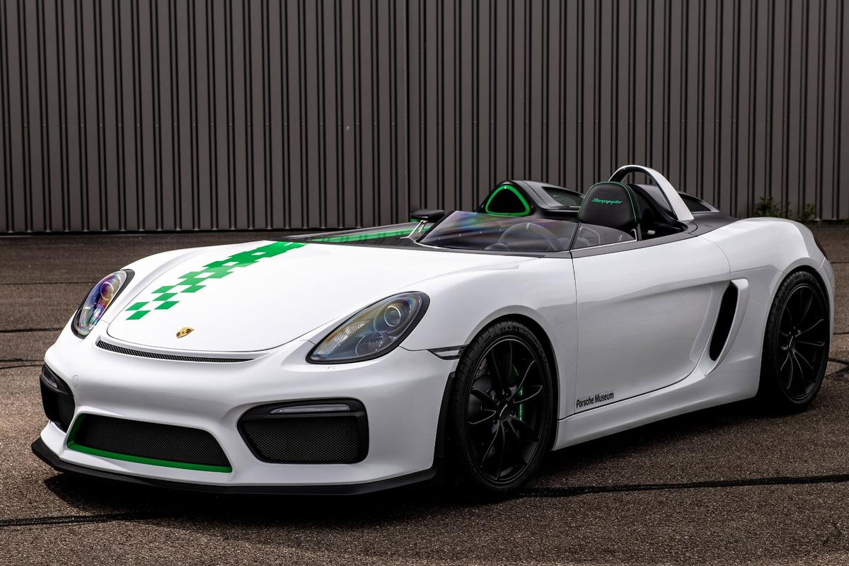 The 2015 Boxster 981Bergspyder,a prototype that Porsche won't be putting into production