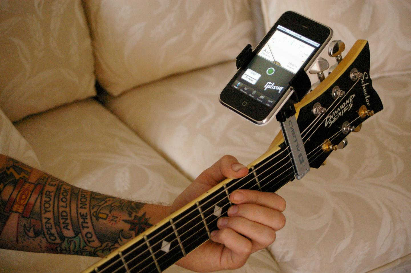 Our guitarist puts the Sidekick through its paces