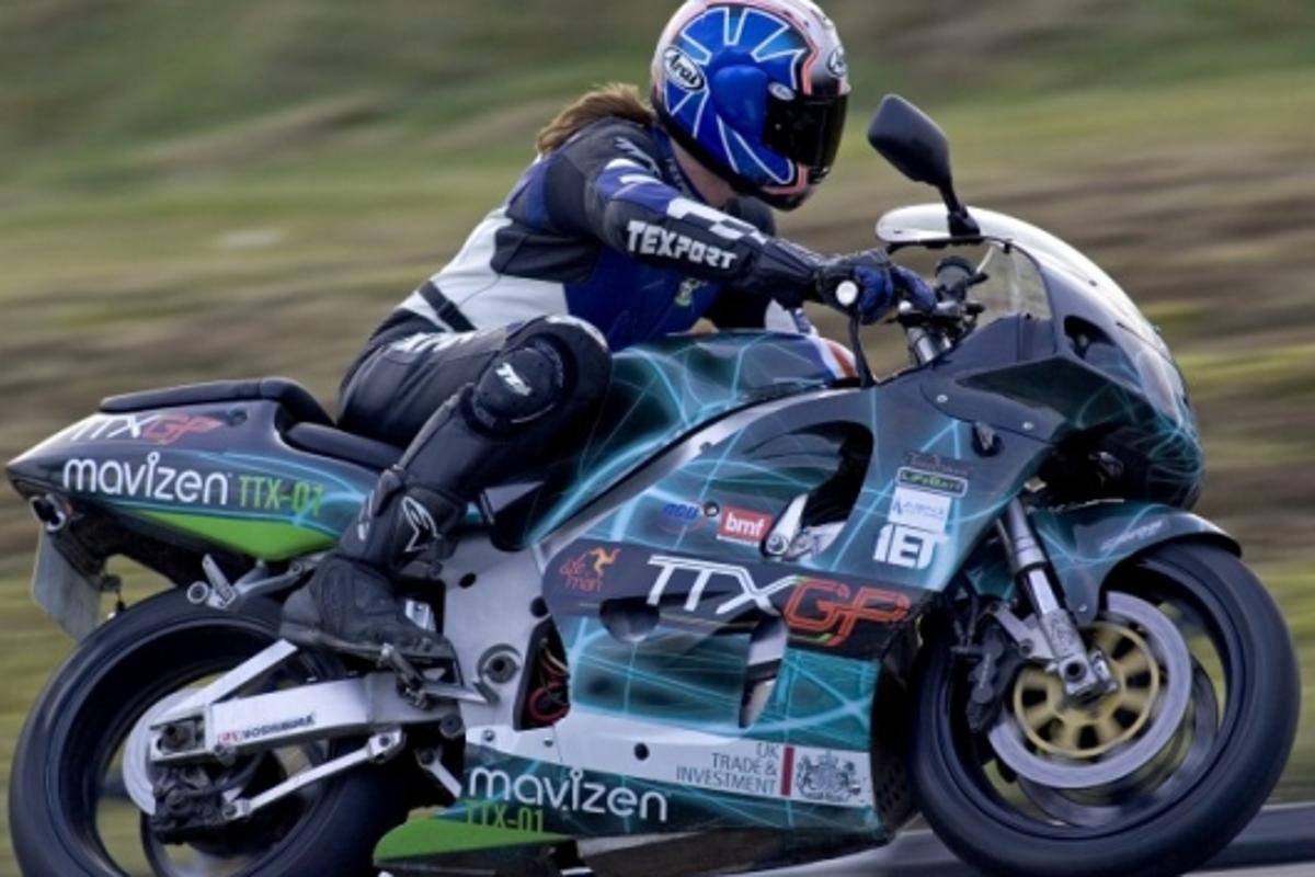 TTX01 electric superbike