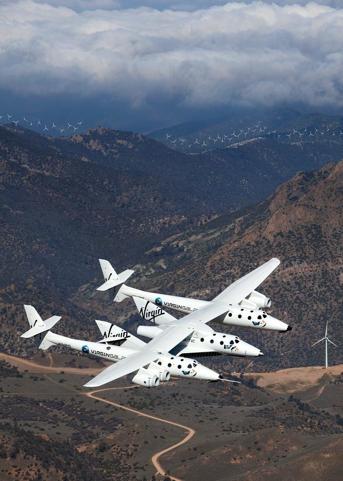 VSS Enterprise First Flight (Photo by Mark Greenberg)