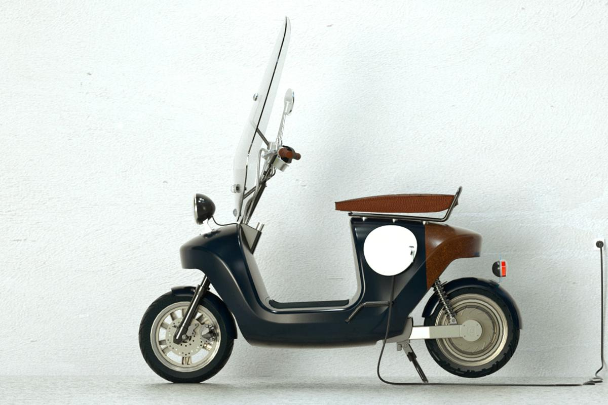 The Be.e electric scooter (Photo: Waarmakers)