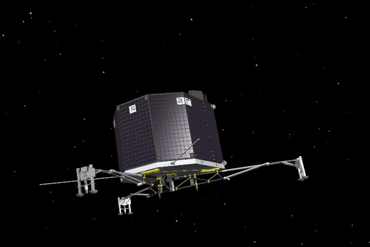 Artist's impression of the Philae lander