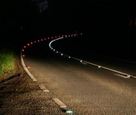"Astucia's the SolarLite™ ""smart"" road stud"