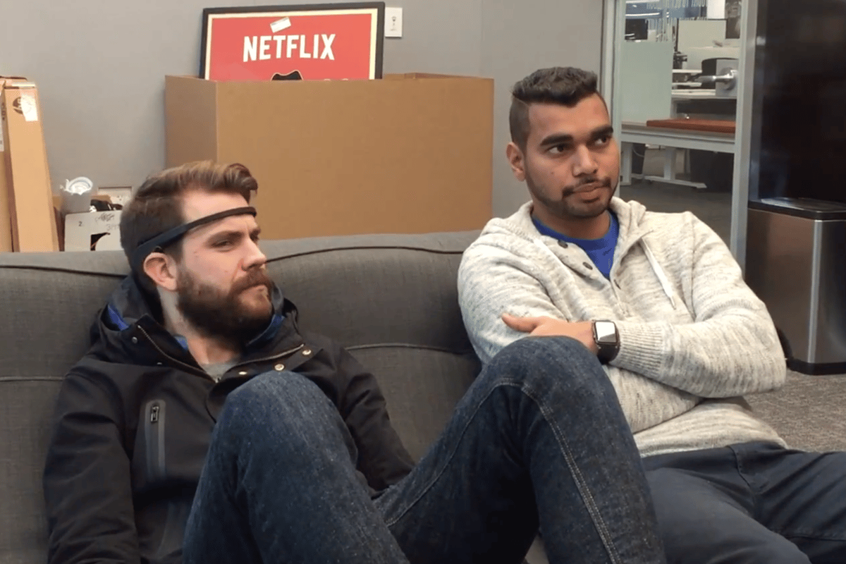 Mindflix is a device that allows you to navigate your Netflix menu with the power of your mind