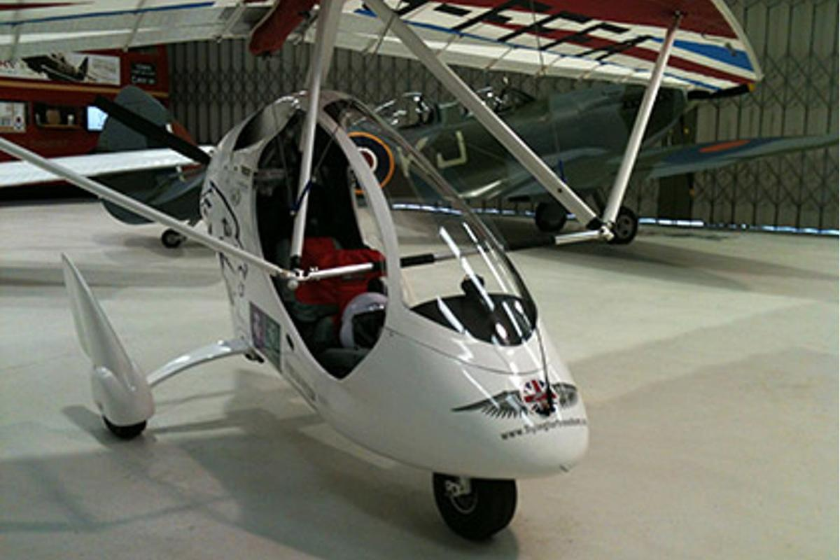 Flying For Freedom plans to send up to five microlights to the South Pole