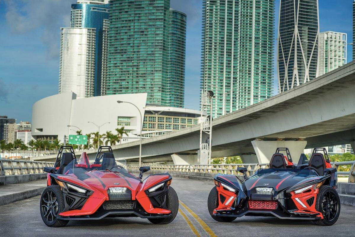 The 2020 Slingshot should be in US showrooms this Spring
