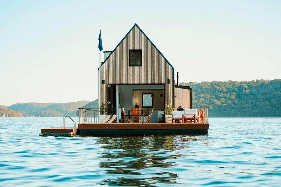 This luxury houseboat is 100 percent solar-powered