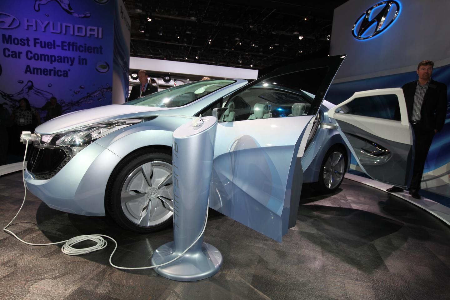 Hyundai's Blue Will plug-in hybrid concept.