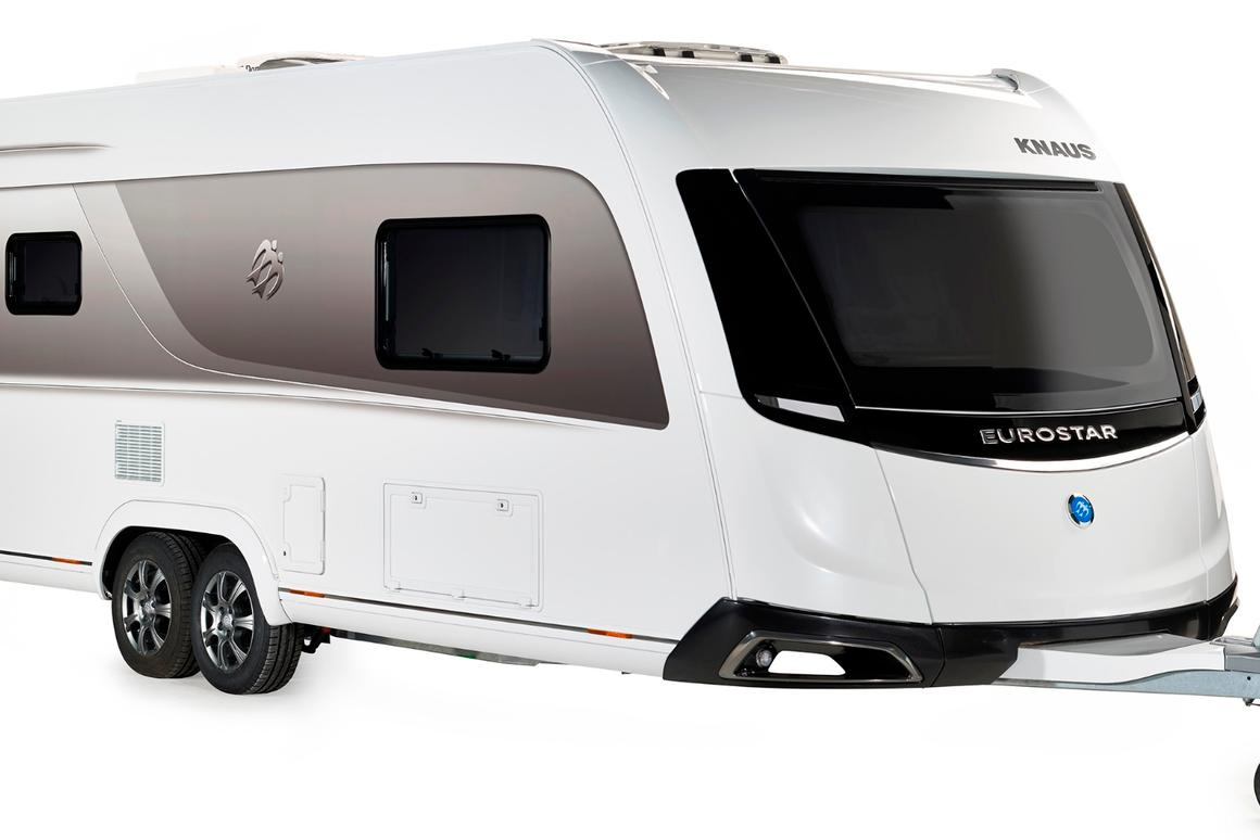 The 2015 Eurostar doesn't share the Caravisio's dramatic shape, but it does have some ties to the concept