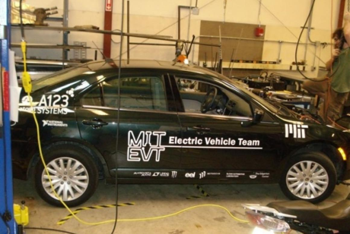 An electric vehicle is nothing without a catchy name - meet MIT EVT's elEVen