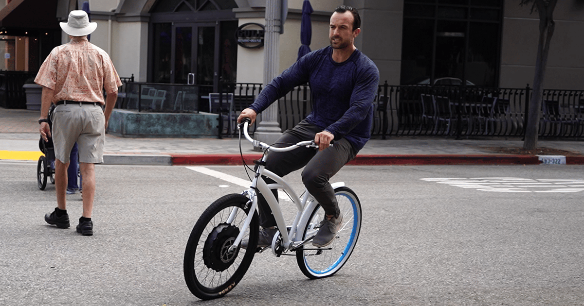 EZ Wheelie turns regular bikes into e-bikes in one minute