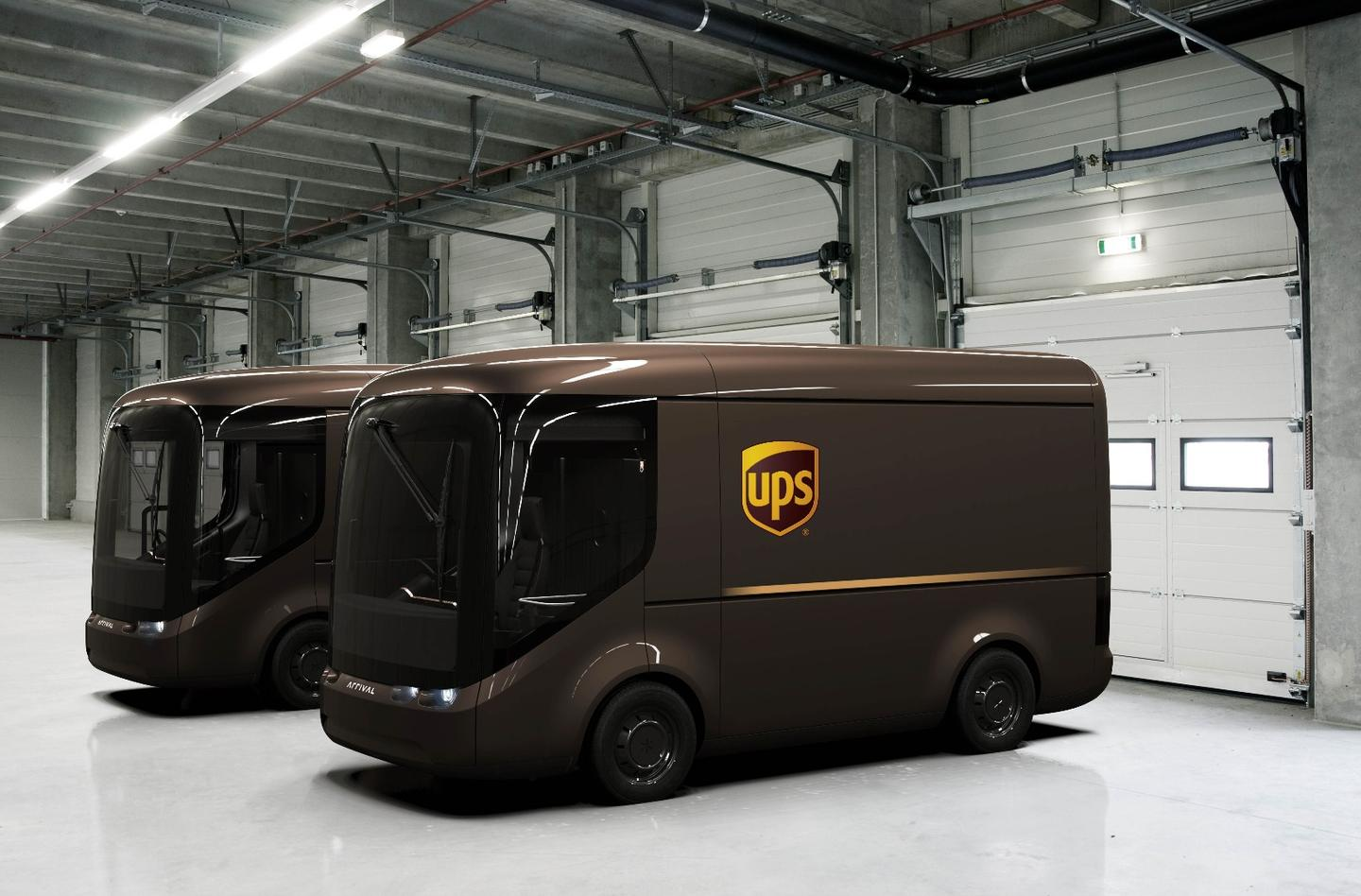 The modular electric delivery truck custom built by Arrival for UPS will have a range per charge of 150 miles
