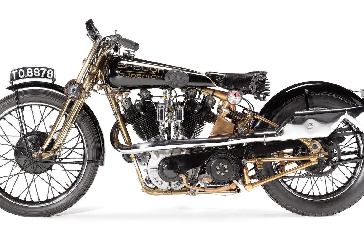 Moby Dick, the famous 1929 SS100 Brough Superior