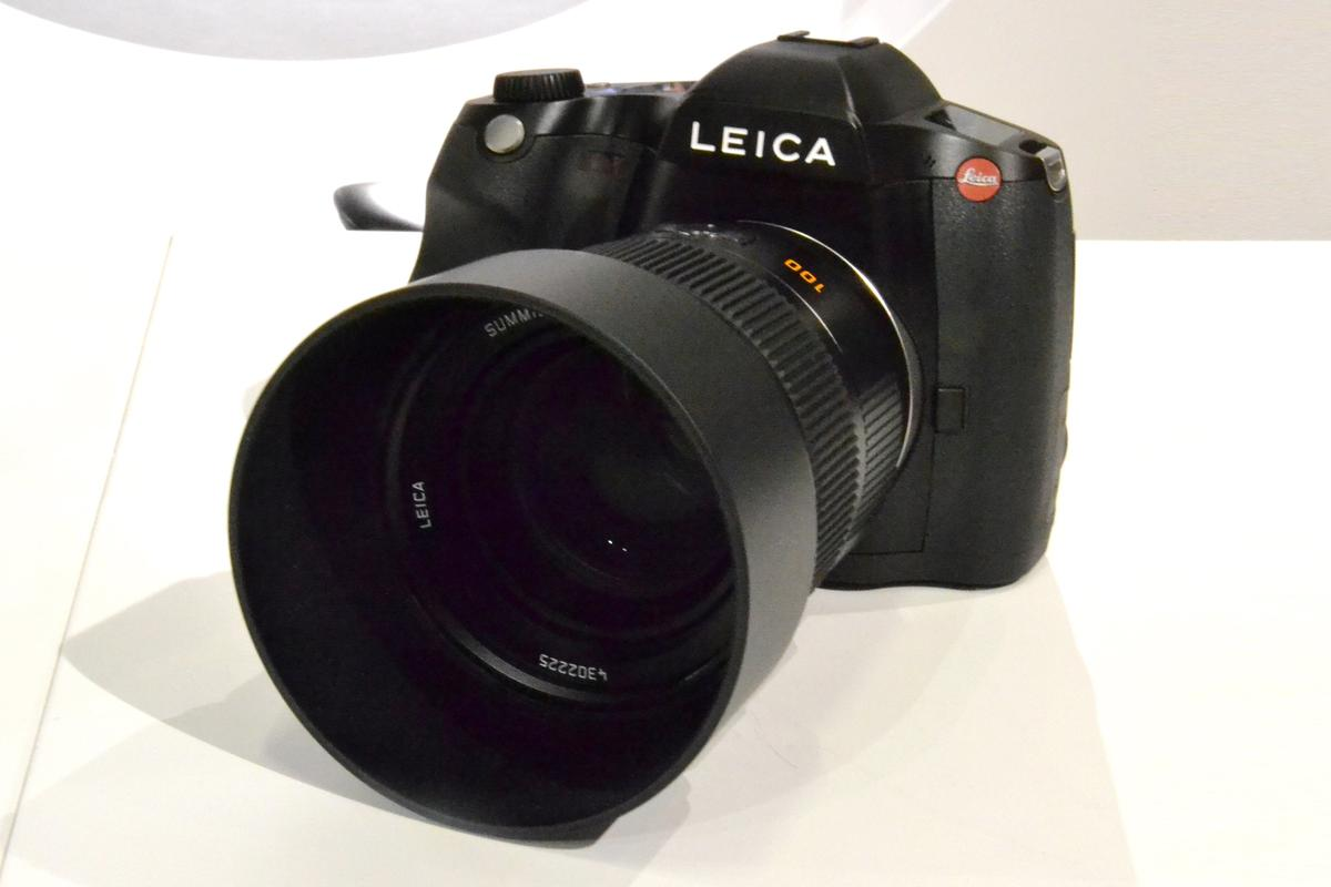The Leica S (Type 007) will be the new flagship S-series model (Photo: Paul Ridden/Gizmag)