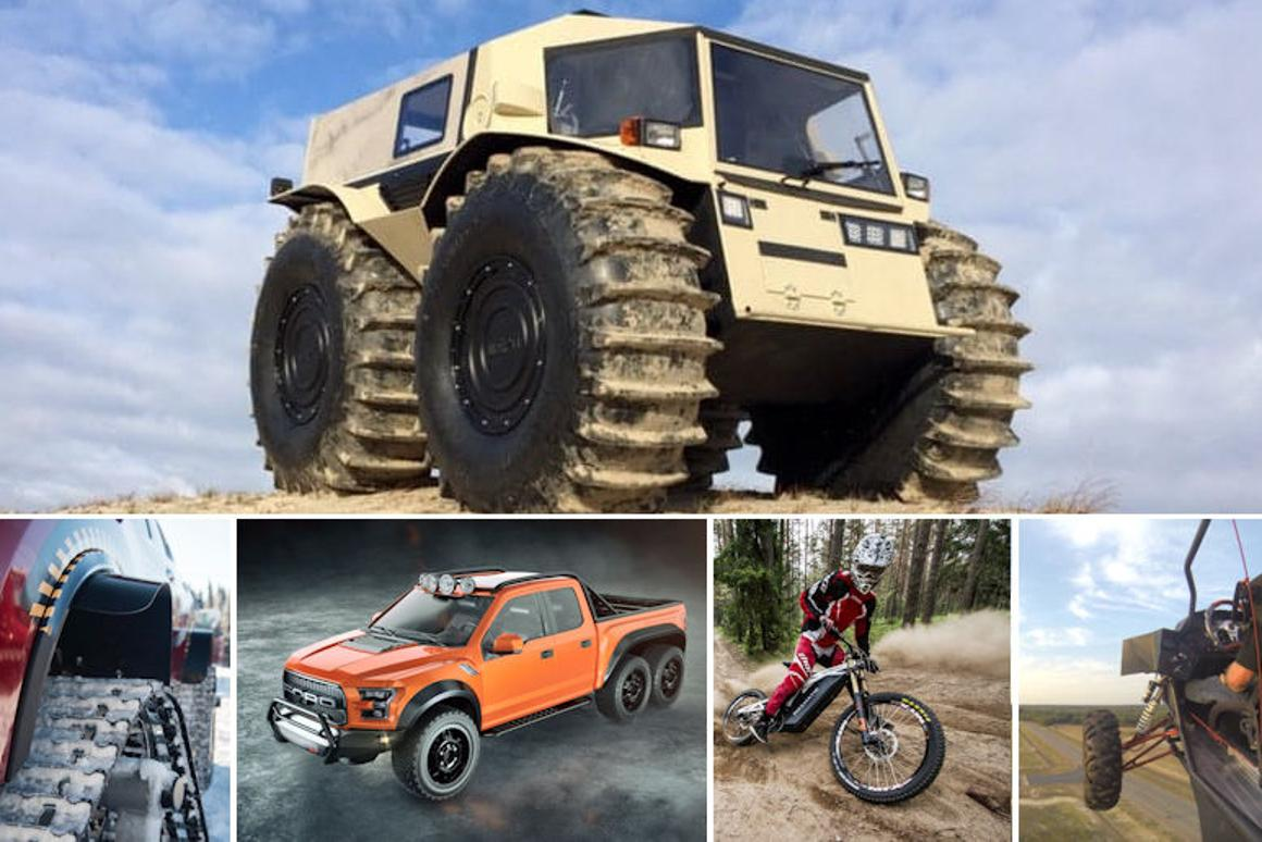 Our pick of the best off-road vehicles of 2016
