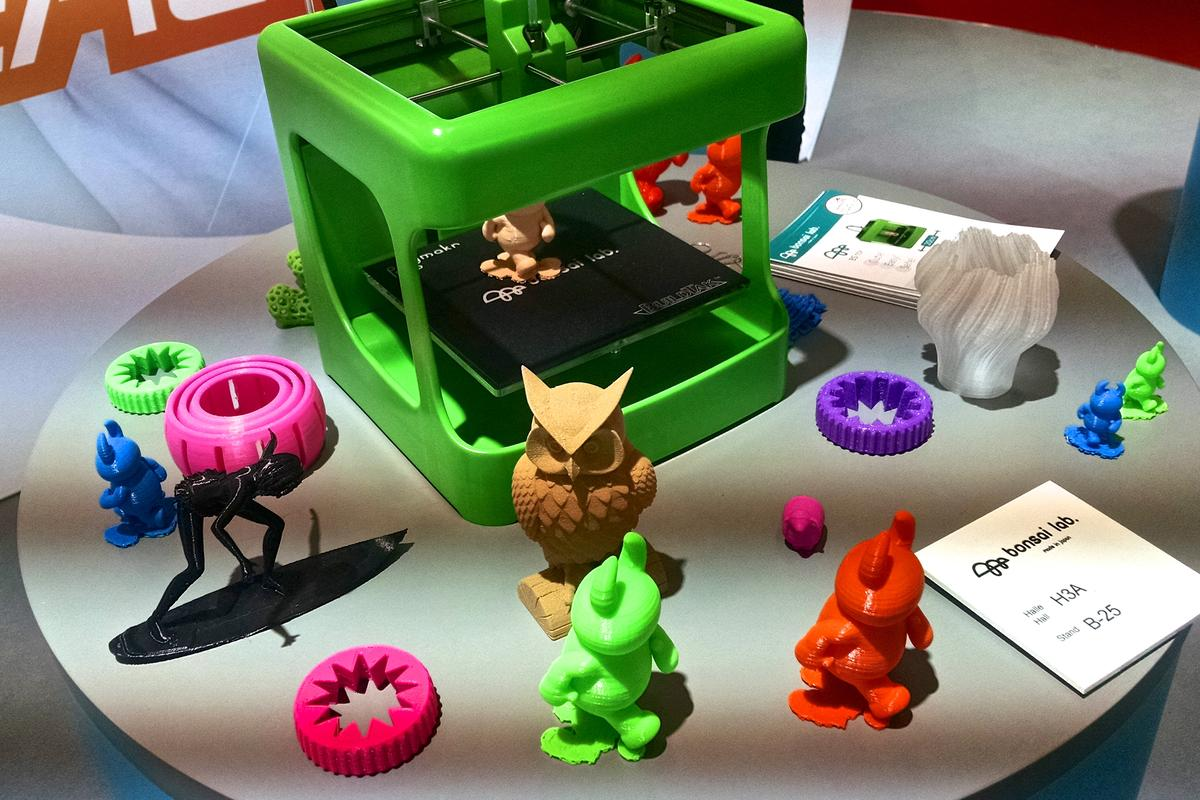 Bonsai Lab shows a model of its BS Toy at the Nuremberg Toy Fair (Photo: C.C. Weiss/Gizmag)
