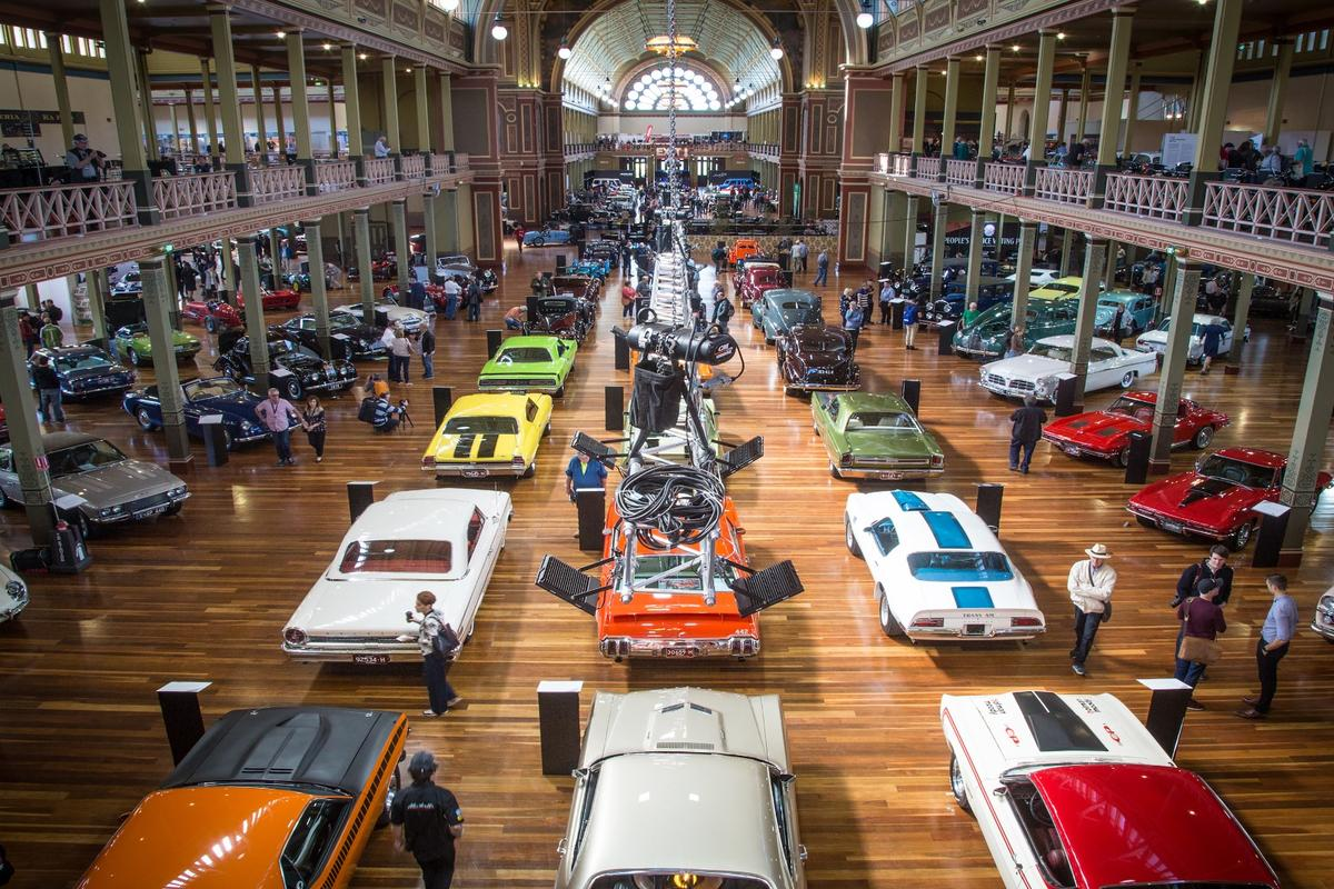 The last days of the American muscle car display was one of the many highlights of Motorclassica 2018.