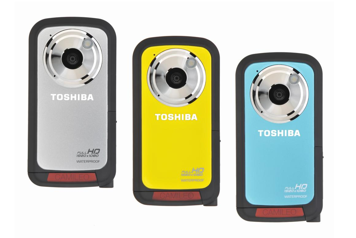 Toshiba Europe has announced a waterproof addition to its Camileo range of camcorders, the BW10 HD sportcam