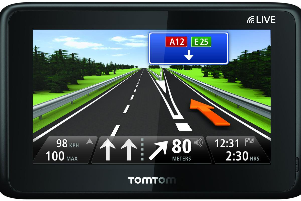 The TomTom GO LIVE 1000