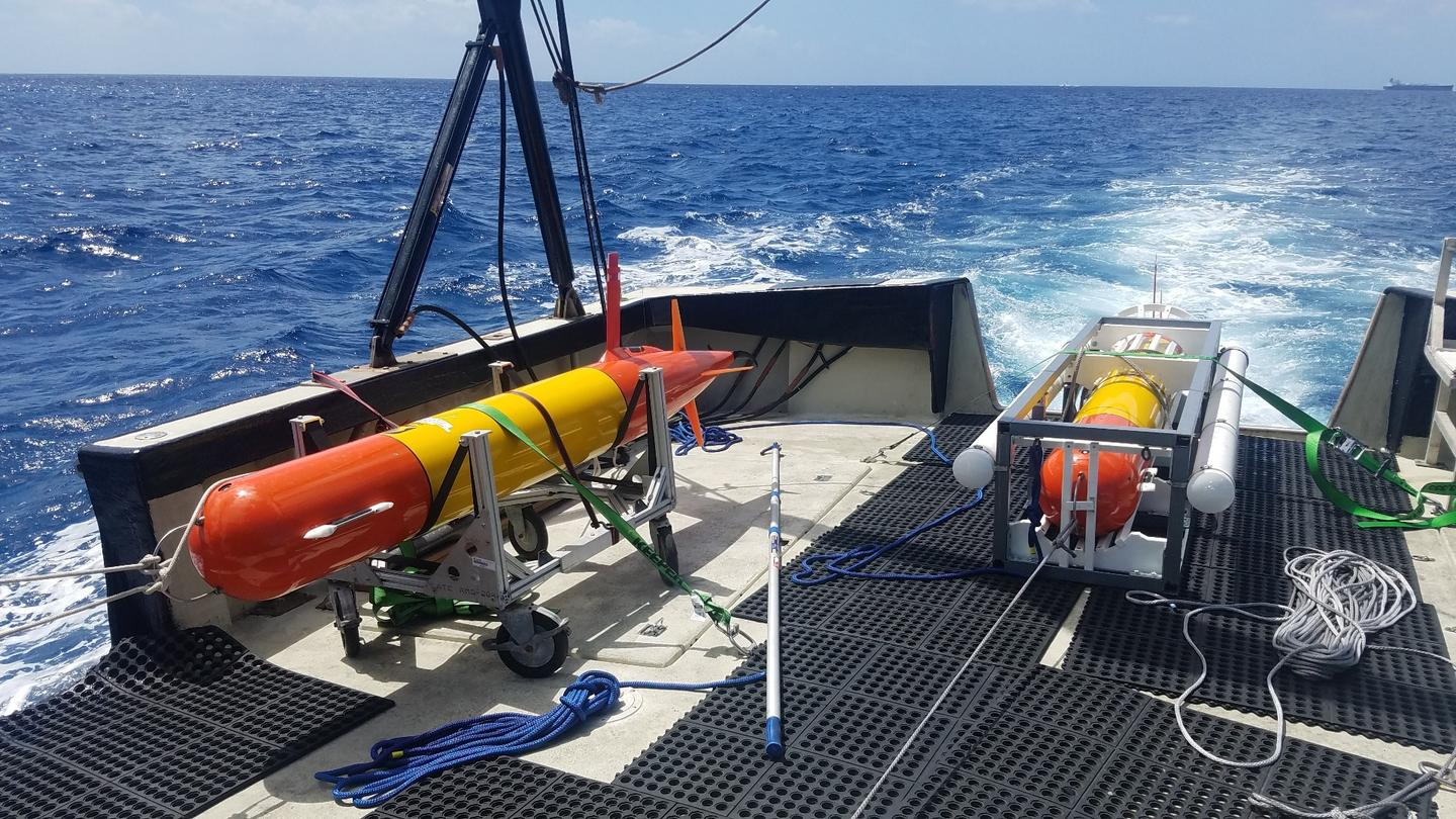 Two long-range AUVs return from field testing offshore of Honolulu Harbor