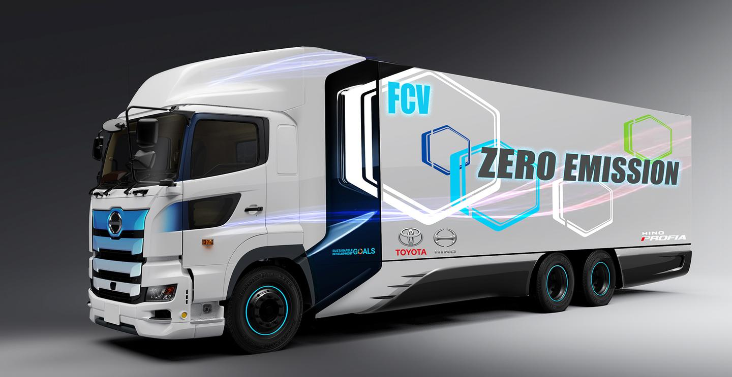 Toyota and Hino are already working on a 25-ton FCET for the Japanese market