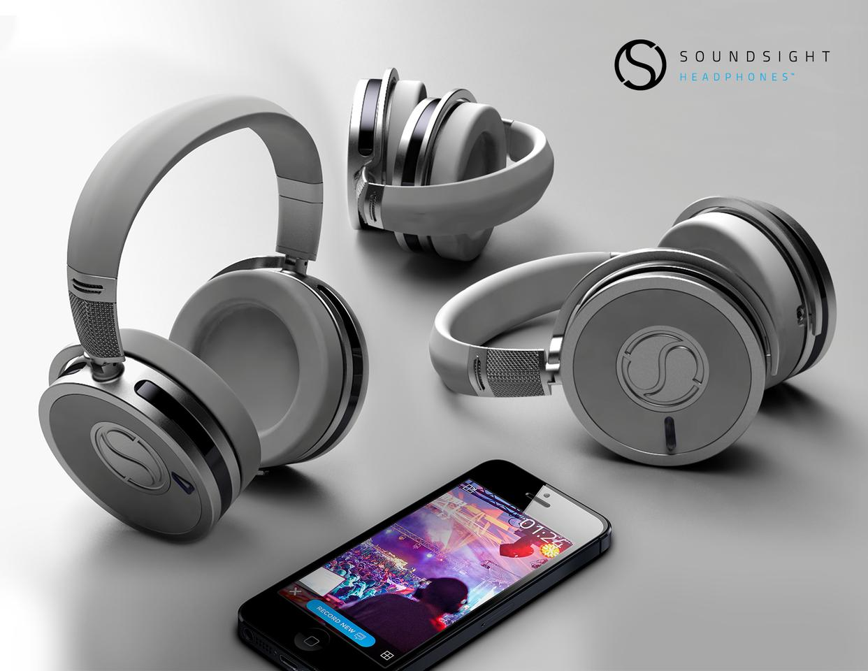 The wireless headphones have been designed for use alongside Android and iOS devices via the Soundsight mobile app
