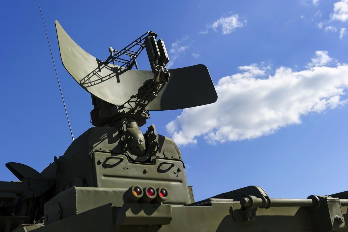 Researchers have developed a thin electronic material that may help hide aircraft from missile-targeting radar