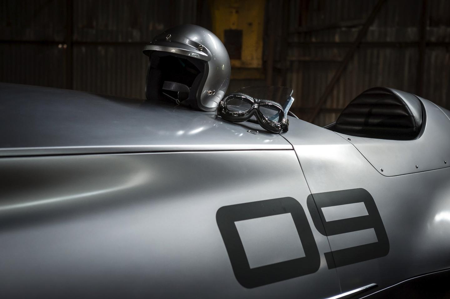 Infiniti has transformed a classic race car with modern design work and electric technology