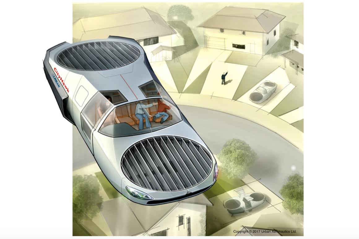 The CityHawk may be the taxi of the future