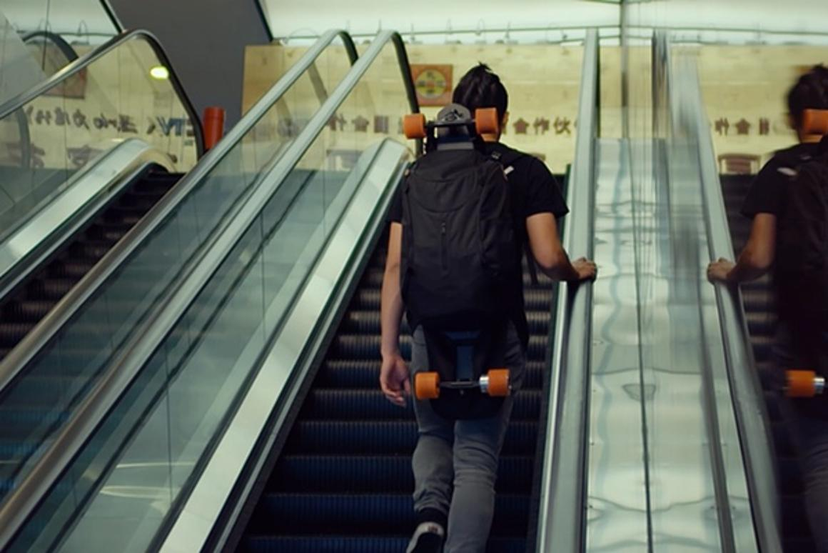 Stary is billed as the world's lightest skateboard at 8.6 lb (3.9 kg)