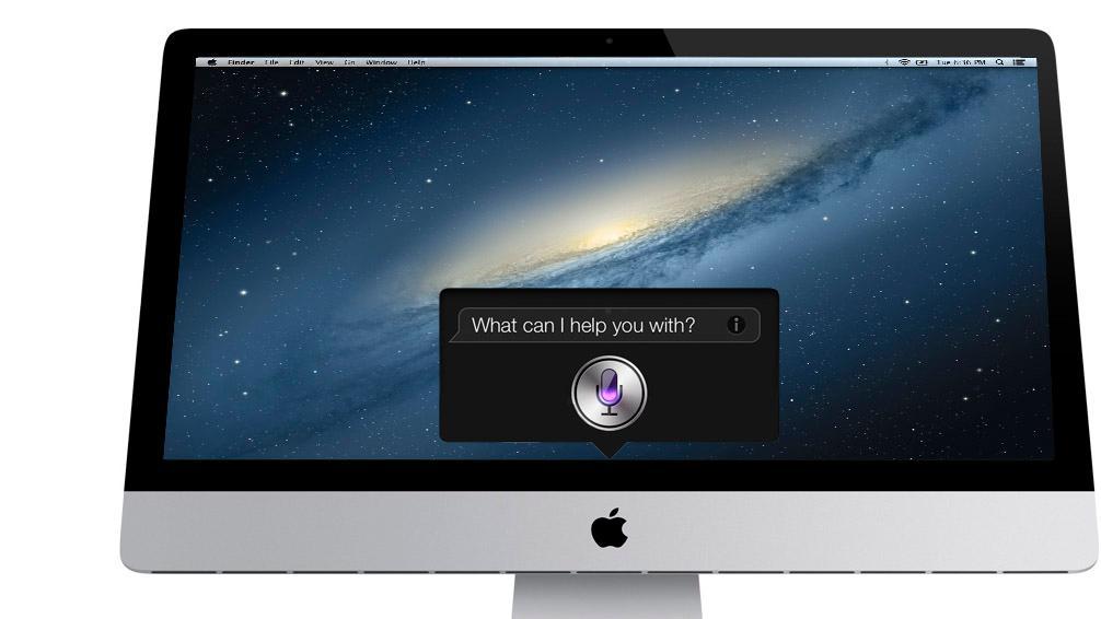 Will iMac owners be asking Siri the meaning of life?