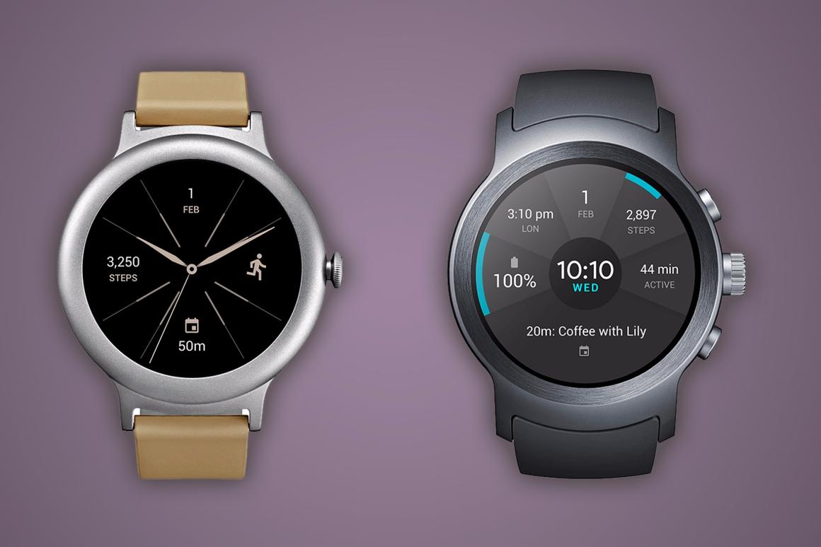 Comparing the first two Android Wear 2.0-bearing smartwatches, the LG Watch Style and LG Watch Sport