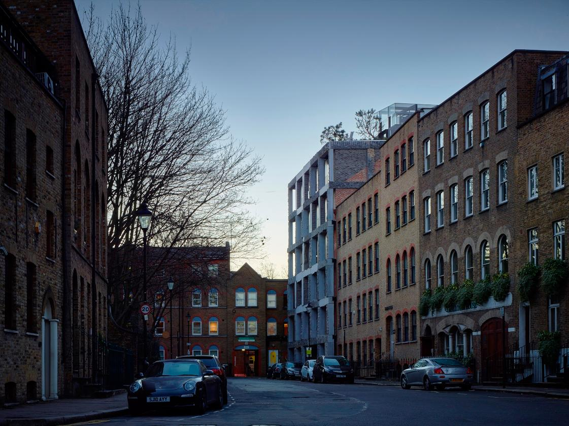15 Clerkenwell Close is located in London