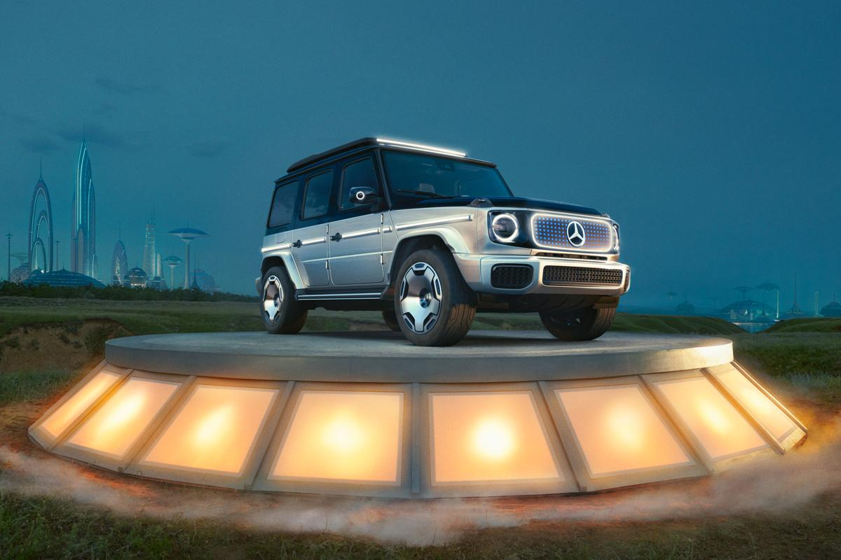 """The G-Wagen is to become an E-Wagen: meet Concept EQG, a """"near production study"""""""