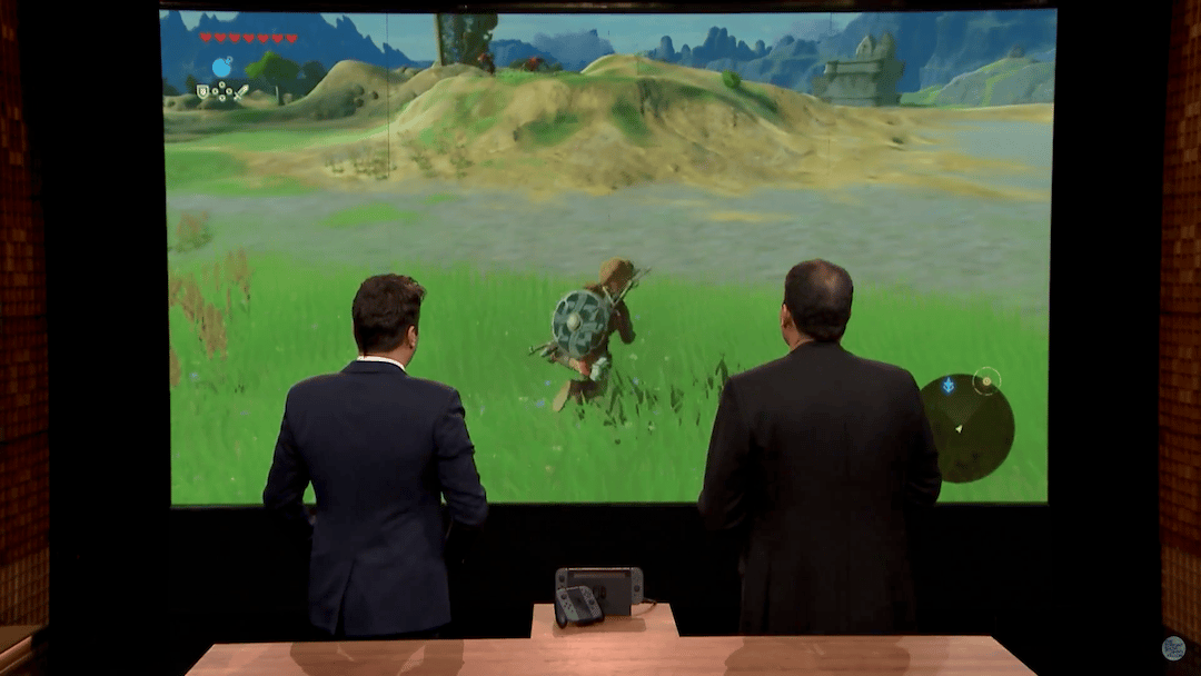 Nintendo demonstrated the Switch on The Tonight Show Starring Jimmy Fallon this week