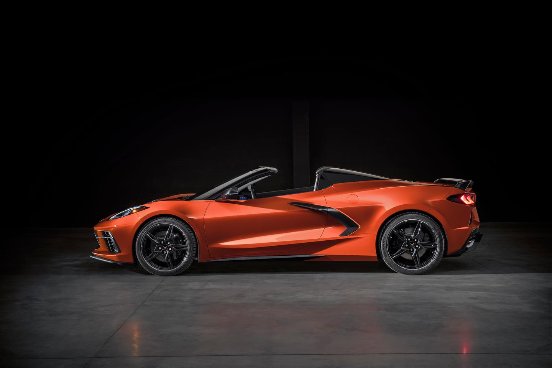 Corvette Convertible and C8R