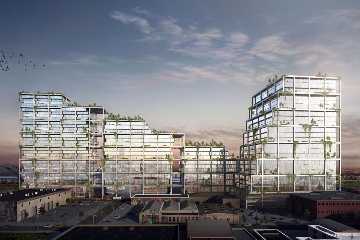 670 Mesquitcomprises 241,548 sq m (2.6 million sq ft) of floorspace
