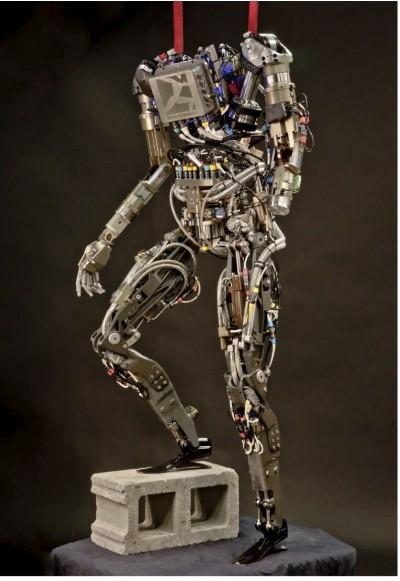 ATLAS will share technology with the previously developed PETMAN robot, seen here (Photo: Boston Dynamics)