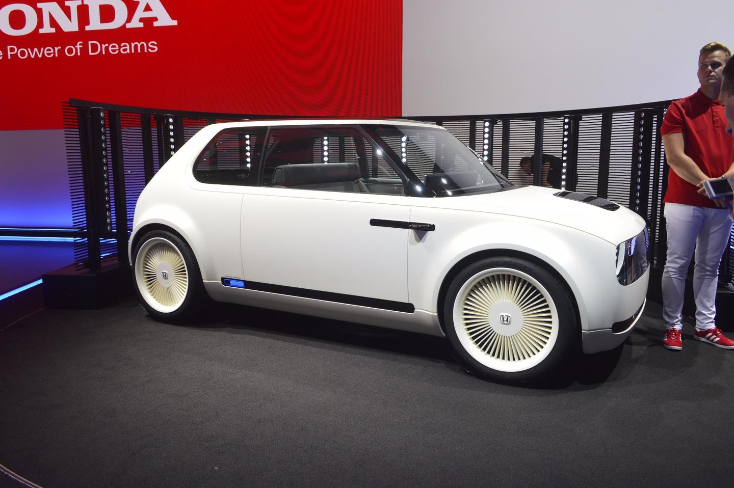 The Honda Urban EV Concept launched in Frankfurt