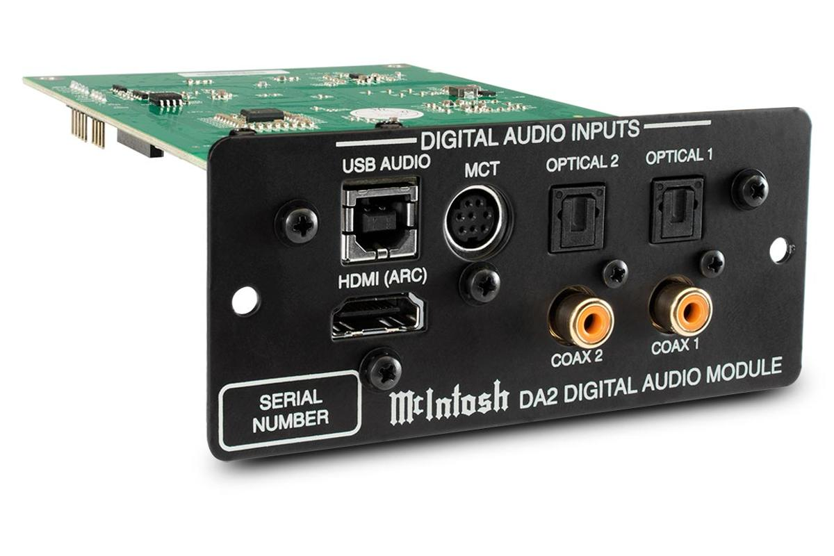 Owners of some McIntosh audio gear can now upgrade to the company's latest generation Digital Audio Module
