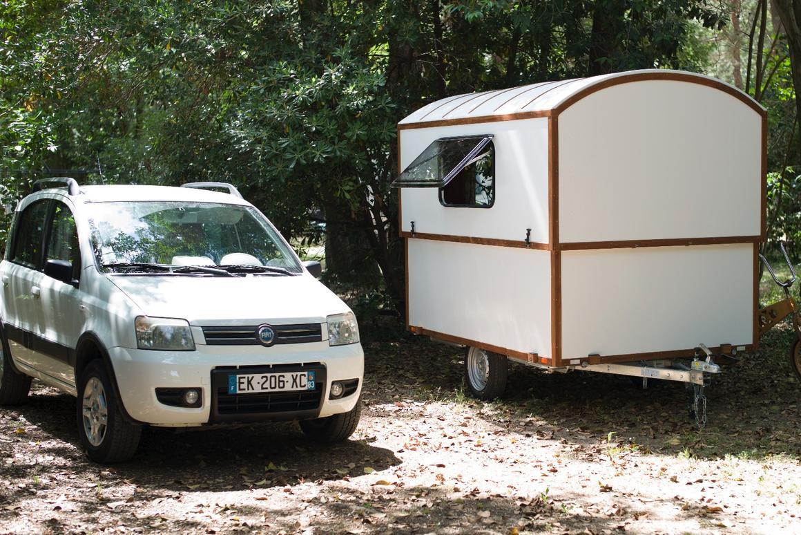 Woodenwidget's Slidavan at camp