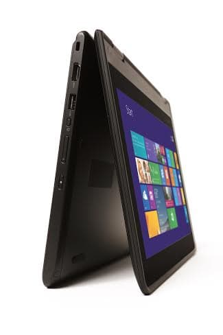 The versatile Thinkpad Yoga 11e can convert into tablet, laptop, tent and stand mode