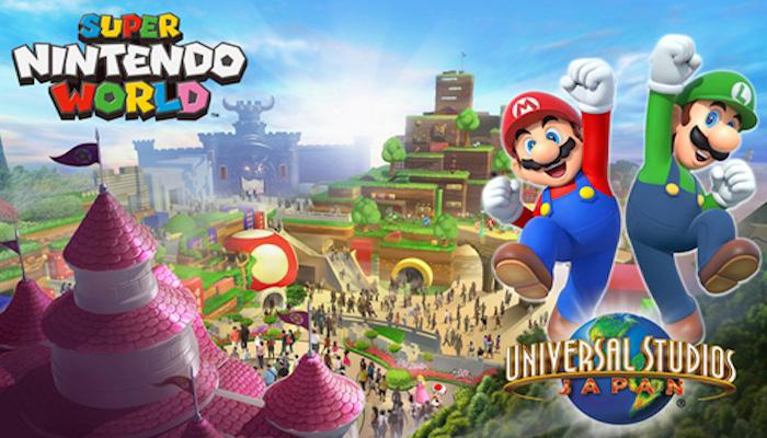 An artist's rendition of what Super Nintendo World at Universal Studios might look like