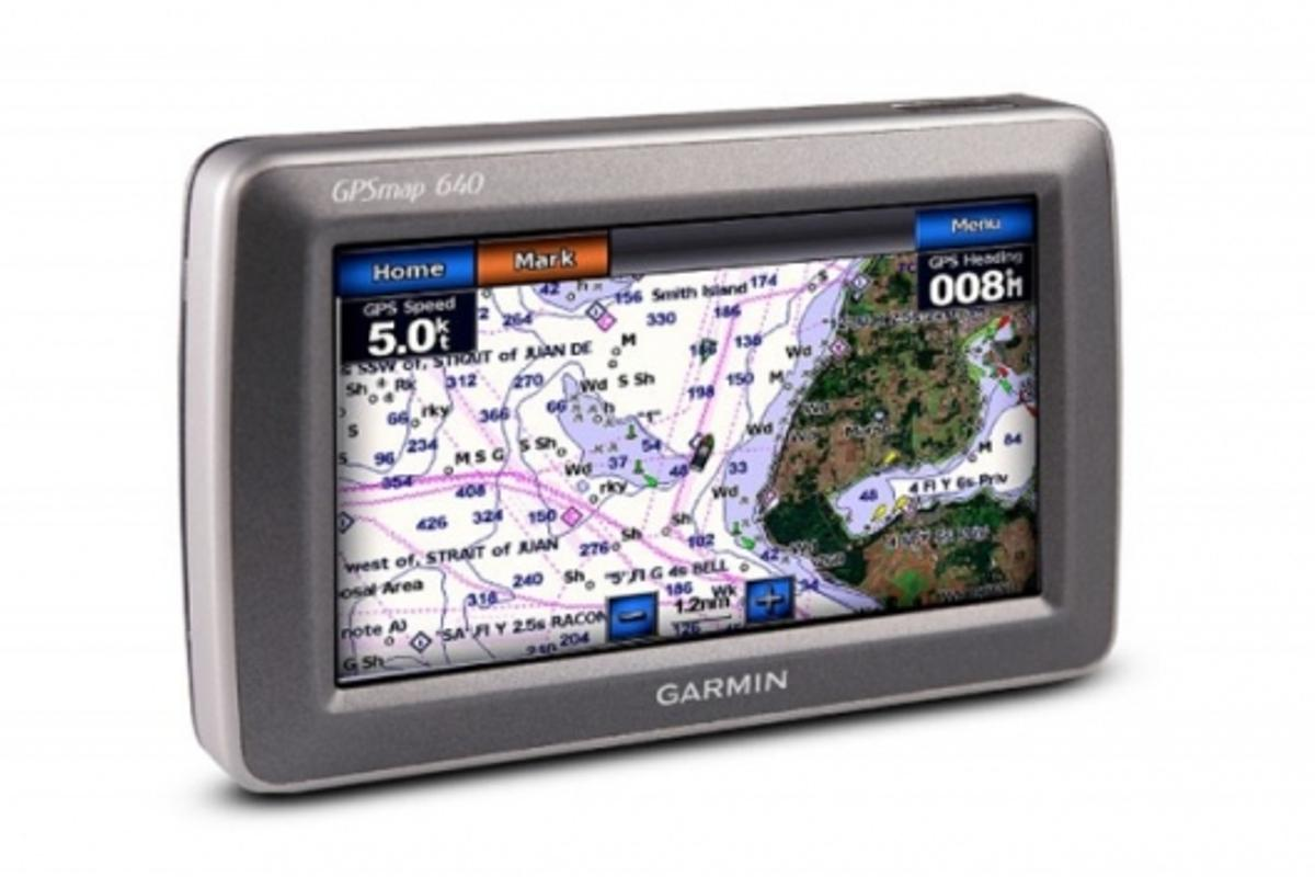 Garmin GPSMAP 640 all-in-one marine and automotive GPS