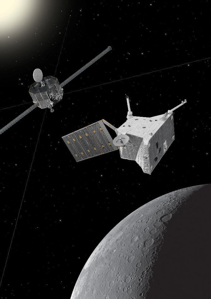 BepiColombo at Mercury