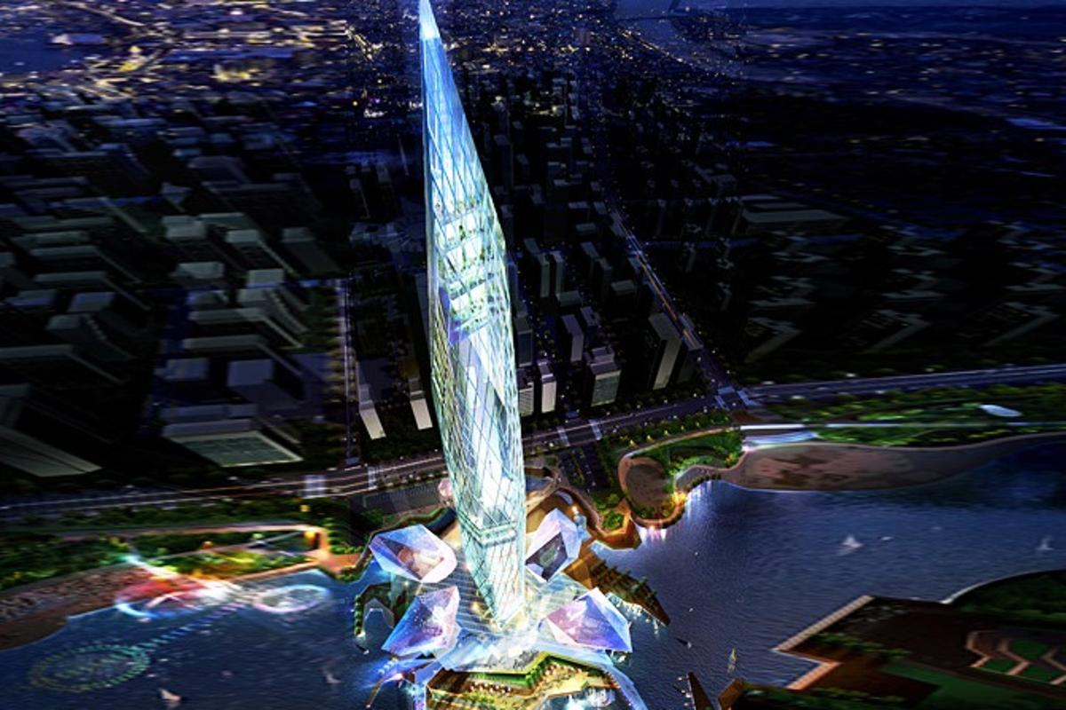 GDS Architects has received the green light for its award winning 450 meter (1,476 ft) high Tower Infinity design