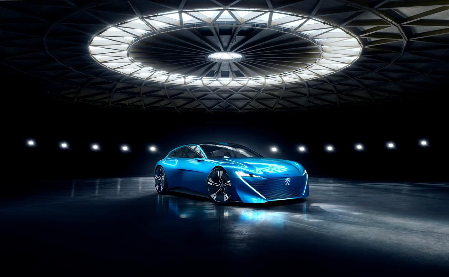 The Peugeot Instinct is a very, very attractive take on autonomy